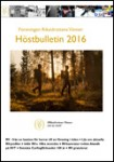 Hšöstbulletin 2016
